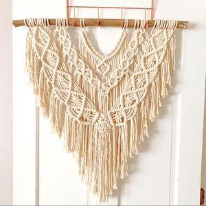 Macrame Wall Hanging • Large Boho Tapestry